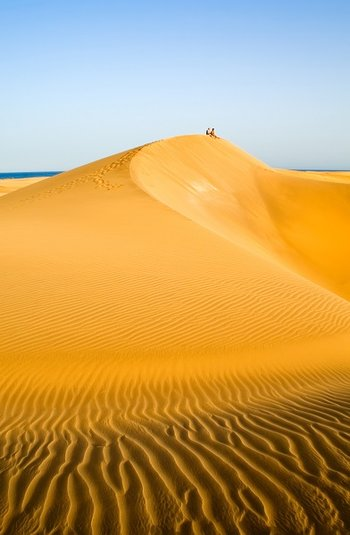 Gran Canaria - rezerwat i plaża Maspalomas