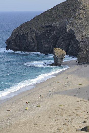 Naj adniejsze pla e na costa de almeria w hiszpanii for Costa sol almeria